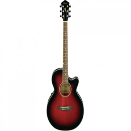 Guitarra Electroacustica IBANEZ GUITARRA E. ACUSTICA ROJA SOMBREADA AEG8E-TRS 8213381 - Envío Gratuito