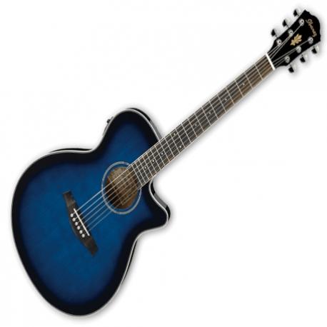 Guitarra Electroacustica IBANEZ IBANEZ GUITARRA E. ACUSTICA ROJA SOMBREADA AEG8E-TRS 8213217 - Envío Gratuito