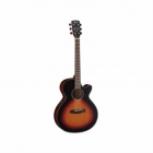 Guitarra Electroacustica CORT GUITARRA ELECTROACUSTUSTICA SOMBREADA MOD. SFX-E 3TSS  8213262