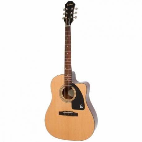 Guitarra Electroacustica EPIPHONE AJ-100ce Nat Ch Hdwe  EE1CNACH1 - Envío Gratuito