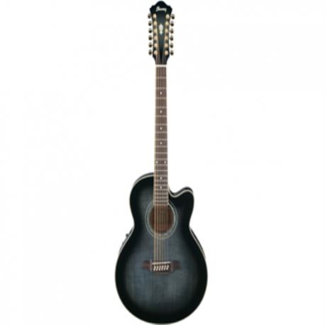 Guitarra Electroacustica IBANEZ GUITARRA ELECTRO ACUSTICA 12 CUERDAS MOD.AEL2012E-TKS  8203393 - Envío Gratuito