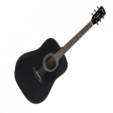 Guitarra Electroacustica CORT GUITARRA ELECTROACUSTICA NGA. MATE C/FUNDA MOD. AD810E BKS 8202941 - Envío Gratuito