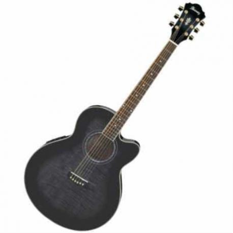 Guitarra Electroacustica IBANEZ GUITARRA ELECTROACUSTICA NGA. TRANSP. SOMB. MOD. AEL20E-TKS  8202939 - Envío Gratuito