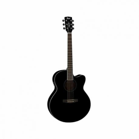 Guitarra Electroacustica CORT GUITARRA ELECTROACUSTICA NGA. MOD. CJ1F BK 8202942 - Envío Gratuito