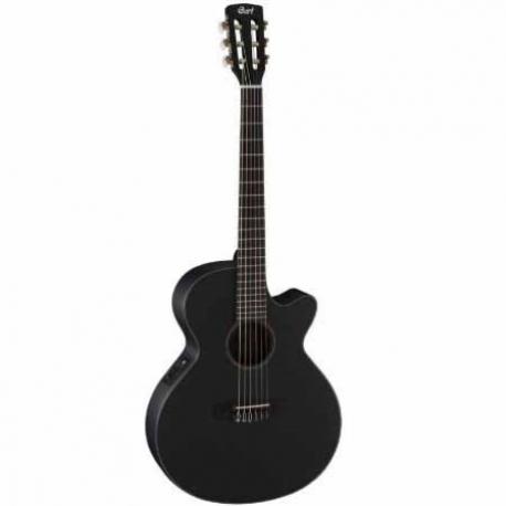 Guitarra Electroacustica CORT GUITARRA ELECTROACUSTICA NGA. MOD. CEC3 BKS  8202943 - Envío Gratuito