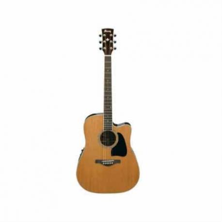 Guitarra Electroacustica IBANEZ GUITARRA ELECTROACUSTICA ARTWOOD NAT. MOD. AW370ECE-NT  8202960 - Envío Gratuito