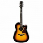 Guitarra Electroacustica IBANEZ GUITARRA ELECTROACUSTICA ARTWOOD SOMB. MOD. AW300ECE-VS 8202964