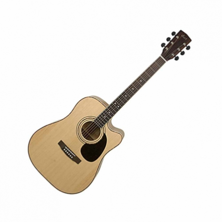 Guitarra Electroacustica CORT GUITARRA ELECTROACUSTICA NAT. C/FUNDA MOD. AD880CE NAT 8202918 - Envío Gratuito