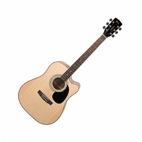 Guitarra Electroacustica CORT GUITARRA ELECTROACUSTICA NAT. C/FUNDA MOD. AD880CE NS 8202919 - Envío Gratuito