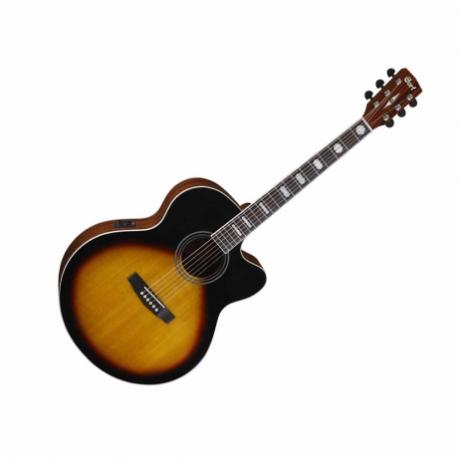 Guitarra Electroacustica CORT GUITARRA ELECTROACUSTICA SOMB. MOD. CJ1F VS  8202922 - Envío Gratuito