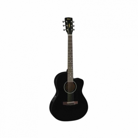 Guitarra Electroacustica CORT GUITARRA ELECTROACUSTICA JADE1 NGA. C/FUNDA MOD. JADE1E BK 8202926 - Envío Gratuito