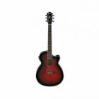 Guitarra Electroacustica IBANEZ GUITARRA ELECTROACUSTICA AEG ROJA TRANSP. MOD. AEG10II-TRS 8202899