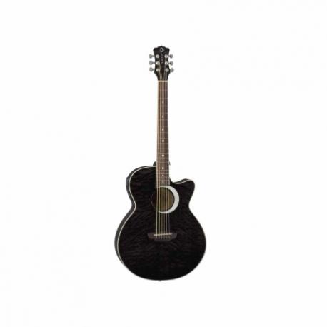 Guitarra Electroacustica LUNA GUITARRA ELECTROACUSTICA LUNA ECLIPSE FOLK NGA. MOD. FAU ECL 8202882 - Envío Gratuito