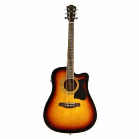 Guitarra Electroacustica IBANEZ GUITARRA ELECTROACUSTICA V SOMB. MOD. V205SECE-VS 8213383 - Envío Gratuito