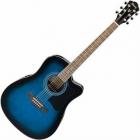 Guitarra Electroacustica IBANEZ GUITARRA ELECTROACUSTICA V AZUL SOMB. MOD. V72ECE-TBS  8213386