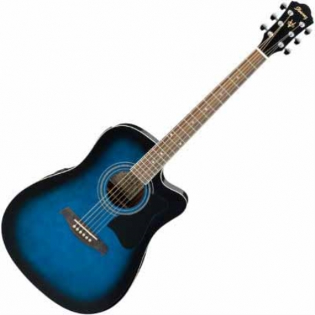 Guitarra Electroacustica IBANEZ GUITARRA ELECTROACUSTICA V AZUL SOMB. MOD. V72ECE-TBS  8213386 - Envío Gratuito