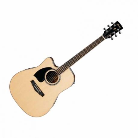 Guitarra Electroacustica IBANEZ GUITARRA ELECTROACUSTICA NAT. ZURDA MOD. PF15LECE-NT 8213255 - Envío Gratuito