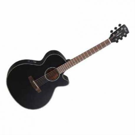 Guitarra Electroacustica CORT GUITARRA ELECTROACUSTICA NGA. MATE MOD. SFX-E BKS  8213263 - Envío Gratuito