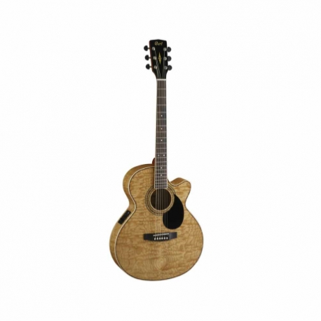 Guitarra Electroacustica CORT GUITARRA ELECTROACUSTICA SFX NAT. C/FUNDA MOD. SFX-AB NAT  8213265 - Envío Gratuito