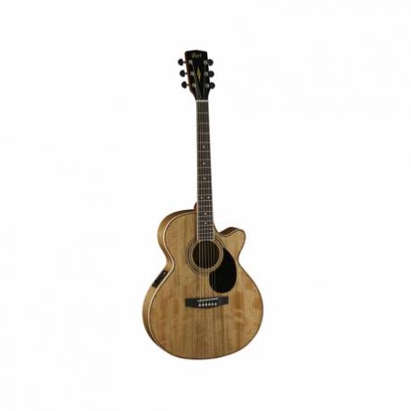 Guitarra Electroacustica CORT GUITARRA ELECTROACUSTICA SFX AMBAR C/FUNDA MOD. SFX-DAO AM  8213267 - Envío Gratuito