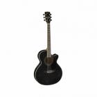 Guitarra Electroacustica CORT GUITARRA ELECTROACUSTICA SFX NGA. C/FUNDA MOD. SFX-FM TBK 8213268