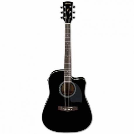Guitarra Electroacustica IBANEZ GUITARRA ELECTROACUSTICA NGA. MOD. PF15ECE-BK  8213252 - Envío Gratuito