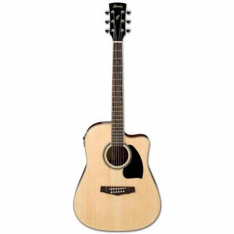 Guitarra Electroacustica IBANEZ GUITARRA ELECTROACUSTICA NAT. MOD. PF15ECE-NT  8213253 - Envío Gratuito