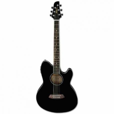 Guitarra Electroacustica IBANEZ GUITARRA ELECTROACUSTICA TALMAN NGA. MOD. TCY8-BK  8205380 - Envío Gratuito