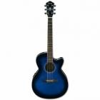 Guitarra Electroacustica IBANEZ GUITARRA ELECTROACUSTICA AEG AZUL SOMB . MOD. AEG6-TBS  8205382