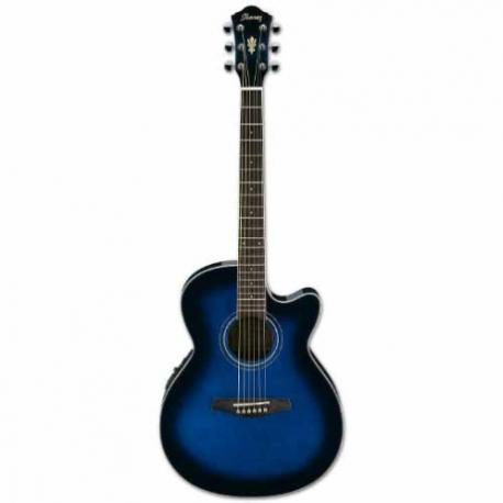 Guitarra Electroacustica IBANEZ GUITARRA ELECTROACUSTICA AEG AZUL SOMB . MOD. AEG6-TBS  8205382 - Envío Gratuito