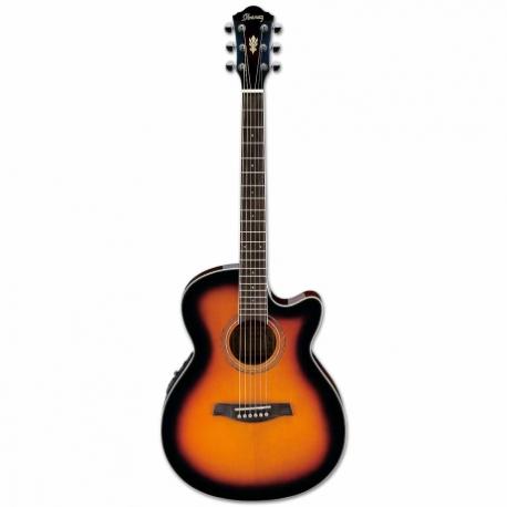 Guitarra Electroacustica IBANEZ GUITARRA ELECTROACUSTICA AEG SOMB. MOD. AEG6-VS 8205383 - Envío Gratuito