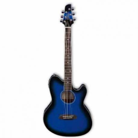 Guitarra Electroacustica IBANEZ GUITARRA ELECTROACUSTICA TALMAN AZUL SOMB. MOD. TCY10E-TBS 8205368 - Envío Gratuito
