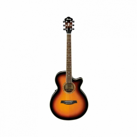 Guitarra Electroacustica IBANEZ GUITARRA ELECTROACUSTICA SOMB. MOD. AEG10E-VS 8203388 - Envío Gratuito