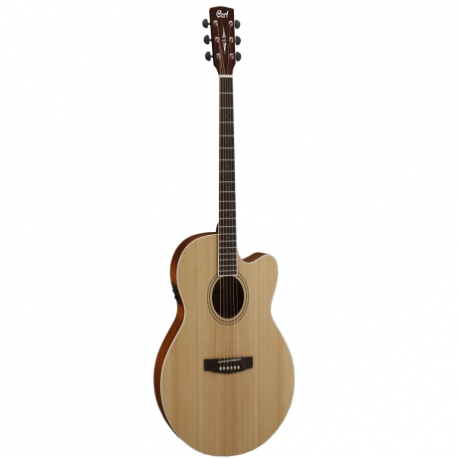 Guitarra Electroacustica CORT GUITARRA ELECTROACUSTICA NAT. MOD. CJ1F NS 8203395 - Envío Gratuito