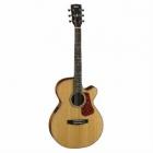 Guitarra Electroacustica CORT GUITARRA ELECTROACUSTICA NAT. MOD. L100F NS  8203399