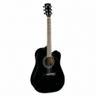 Guitarra Electroacustica CORT GUITARRA ELECTROACUSTICA NGA.MATE (MR700F-BKS) MOD. MR700F BKS  8203402