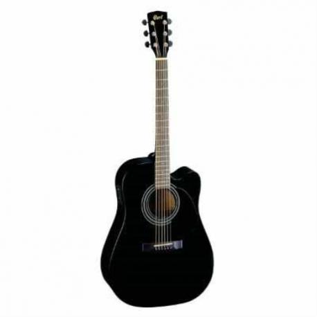 Guitarra Electroacustica CORT GUITARRA ELECTROACUSTICA NGA.MATE (MR700F-BKS) MOD. MR700F BKS  8203402 - Envío Gratuito