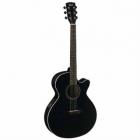 Guitarra Electroacustica CORT GUITARRA ELECTROACUSTICA NGA. BRILLANTE MOD. SFX1F BKS  8203404