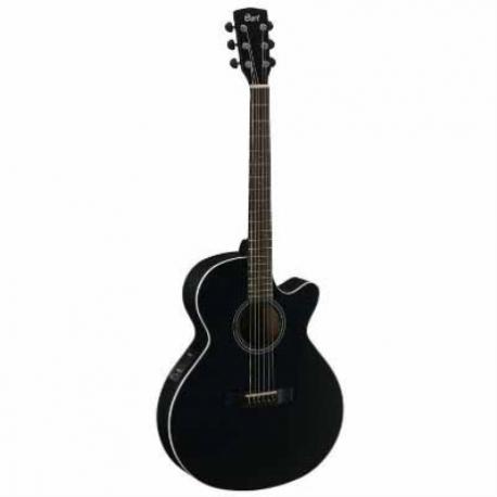 Guitarra Electroacustica CORT GUITARRA ELECTROACUSTICA NGA. BRILLANTE MOD. SFX1F BKS  8203404 - Envío Gratuito