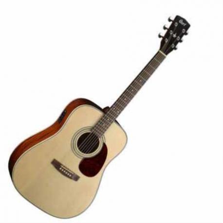 Guitarra Electroacustica CORT GUITARRA ELECTROACUSTICA NAT. MOD. EARTH70E NS  8203411 - Envío Gratuito