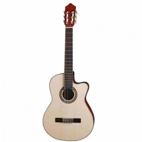 Guitarra Electroacustica CRAFTER GUITARRA CRAFTER E/ACUSTICA HCC-18EQ ISCRFHCC18EQNAT - Envío Gratuito