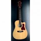 Guitarra Acústica CAMPERO Docerola de Caobilla con resaque 12 Cuerdas C-DOC-1 - Envío Gratuito