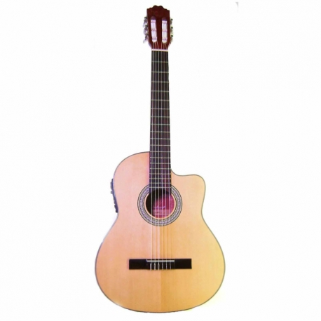 Guitarra Acústica LA SEVILLANA GUITARRA LA SEVILLANA E/ACUSTICA N-3CE  ISSEVN3CE - Envío Gratuito