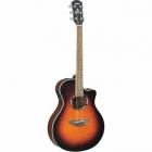 Guitarra Acústica YAMAHA Guitarra EA serie APX cuerdas de acero, tapa laminada, eq 3 bandas, afinador GAPX500II - Envío Gratuito