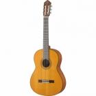 Guitarra Acústica YAMAHA Clásica tapa sólida de cedro, acabado mate  GCG122MC