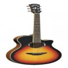 Guitarra Acústica YAMAHA Guitarra EA serie APX cuerdas de acero, tapa laminada, eq 3 bandas, afinador  GAPX500III