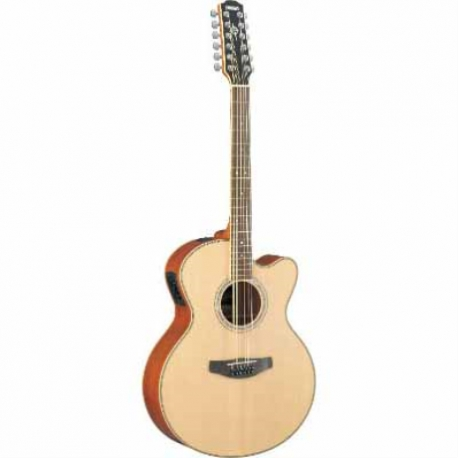 Guitarra Acústica YAMAHA Guitarra EA CPX, 12 cuerdas tapa sólida,afinador, eq de 3 bandas  GCPX700II-12NT - Envío Gratuito