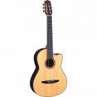 Guitarra Acústica YAMAHA Guitarra EA de cuerdas de nylon caja clásica, costados y caja de palo de rosa con estuche  GNCX1200R