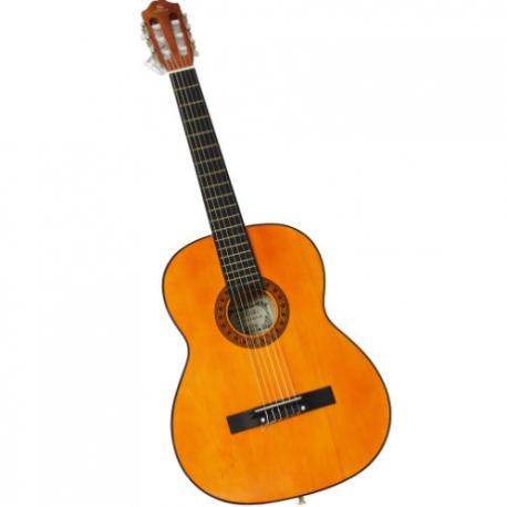 Guitarra Acústica SEGOVIA GUITARRA CLASICA ACUSTICA NATURAL 6 CDAS NYLON  SGLC-14 4-4 - Envío Gratuito