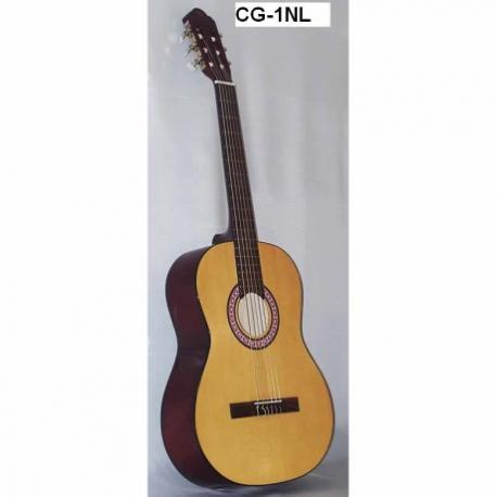 Guitarra Acústica SEGOVIA GUITARRA CLASICA TAPA NATURAL LAMINADA  CG-1NL - Envío Gratuito